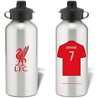 personalisierbar Liverpool FC Aluminium Wasser Flasche