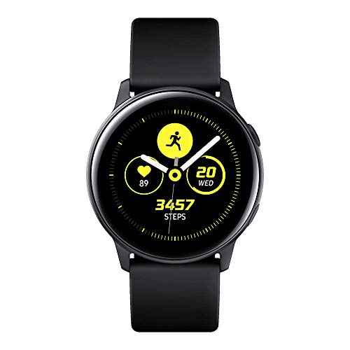 Foto Samsung Galaxy Watch Active Smartwatch Tizen, Bluetooth, Activity Tracker e GPS, 39.5 mm, Nero, [Versione Italiana]