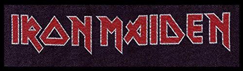 Unbekannt Iron Maiden Logo Patch Standard -