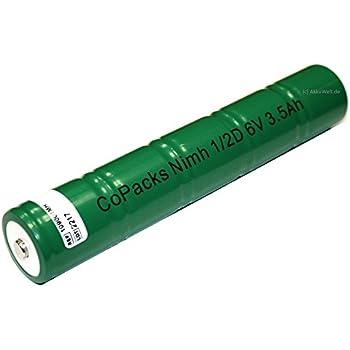 Hqrp 1 2d 6v 3500mah Akku F 252 R Maglite Arxx235 Amazon De