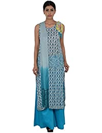 Rina Dhaka Women's Viscose Salwar Suit Set
