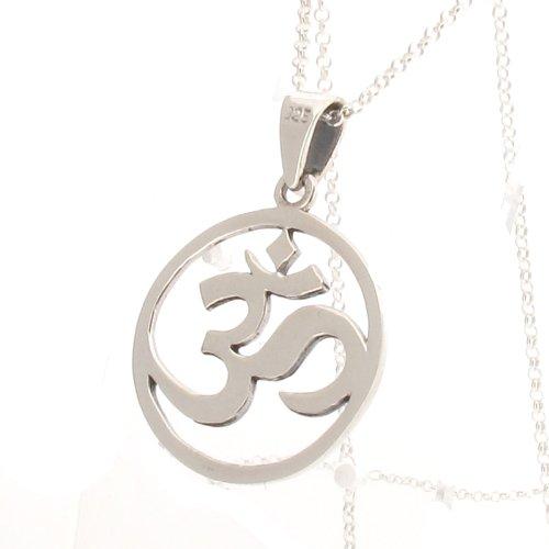 plata-de-ley-om-mystic-simbolo-colgante-y-cadena-de-16-18