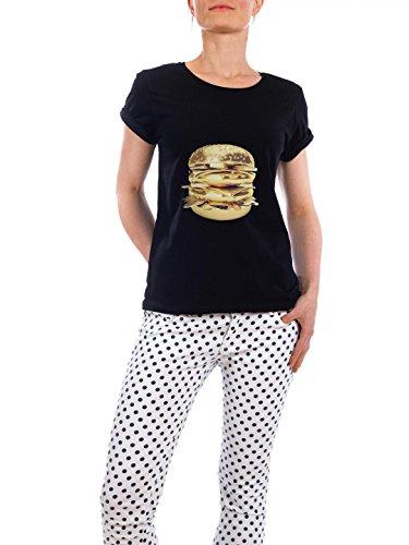design-t-shirt-frauen-earth-positive-le-golden-big-mac-in-schwarz-grosse-xl-stylisches-shirt-geometr