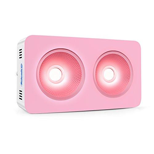 Roleadro COB 300W Led Pflanzenlampe,Reflektor-Serie Led Full Spectrum Grow Lampe mit Daisy-Chain-Funktion für Grow Tent/Grow Box/Mini Gewächshaus (356 x 242 x 140mm)