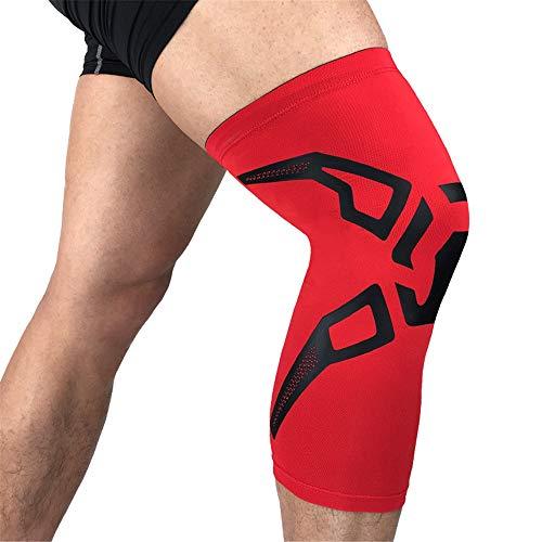 AYEMOY Rodilleras Deportivas Adjustable Apoyo Protector de Rótula Menisco Ligamentos Tendones para Hombre Mujer Ciclismo Correr Gimnasio Ortopedica Dolor Artrosis Baloncesto Fútbol
