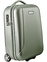 Carryon skyhopper equipaje de mano 32L 2ruedas–Maleta rígida TSA Viaje cabinsize verde oliva