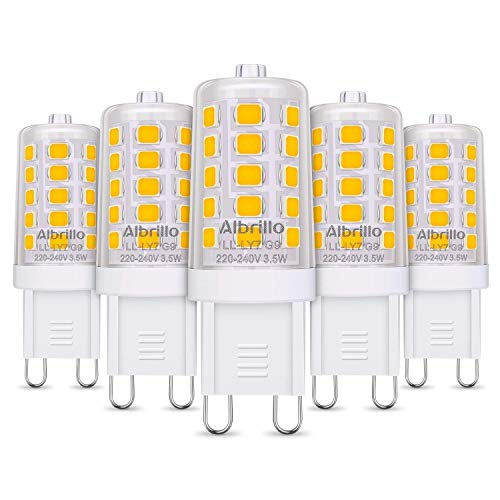 Albrillo Bombillas LED G9 de 3.5W
