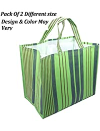 MasterStor Multipurpose Reusable Eco Vegetable Bag/Grocery Bag/Shopping Bag Pack Of 2