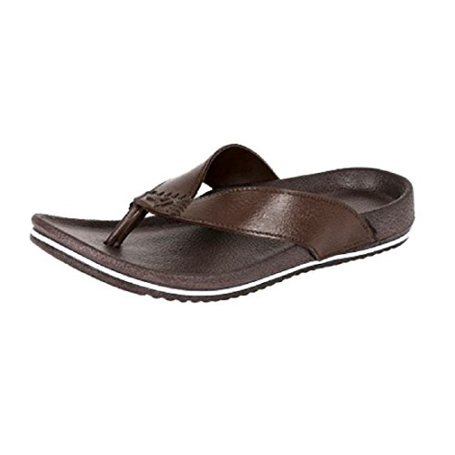 Aircum Men's slipper Brown  available at amazon for Rs.129