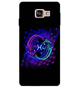 Citydreamz Colorful Fishes Hard Polycarbonate Designer Back Case Cover For Samsung Galaxy A7 2016 Edition