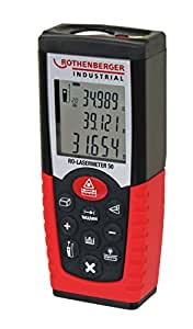 Rothenberger Industrial RO Laser Distance Meter 50m Laser Distance Meter Measure Distance-50Metres