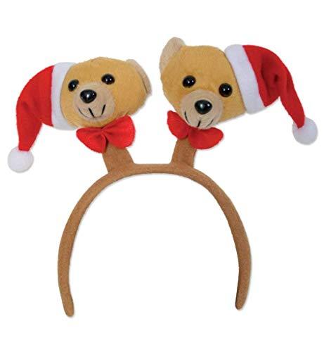 Schmuck Kostüm Weihnachtsbaum - KarnevalsTeufel Haarreif Weihnachten Haar-Schmuck mit Verschiedenen Motiven