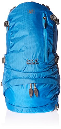 Jack Wolfskin Acs Hike 24 Pack Trekking Backpack, Ocean Blue, 55 x 30 x 25 cm