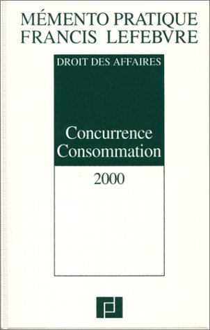 Mémento Concurrence Consommation