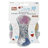 Prym Love Jersey Color Verschlüsse Messing 8 mm Einheitsgröße