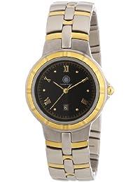 Constantin Durmont Damen-Armbanduhr XS Ragtime Analog Quarz Edelstahl beschichtet CD_RAGL-QZ-STGD-STGD-BK