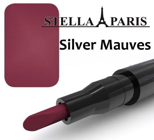 Stella Paris Permanent Lippenstift No. 52 Silver Mauves