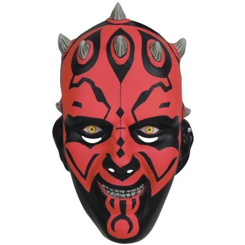 Darth Maul Mask Costume Accessory by Halloween Resource Center, Inc.