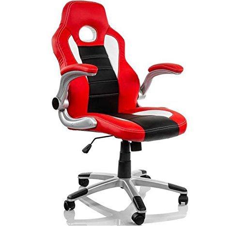 Eurosilla Gaming 2 - Sedia da Ufficio, 116x60x62cm, Vari Colori Disponibili