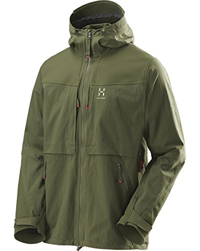 Haglöfs Herren Robuste Jacke Rugged Fjell Jacket Men F15 juniper