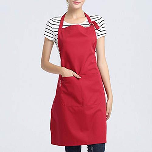 Tablier de Cuisine Maison Cuisine façon Tablier de Cuisinier Hommes et Femmes hôtel Restaurant café Work Clothes Tablier b