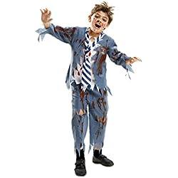 My Other Me - Disfraz de estudiante zombie chico para niño, 7-9 años (Viving Costumes 201911)