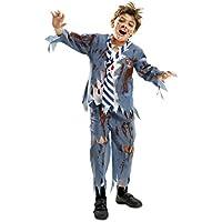My Other Me - Disfraz de estudiante zombie chico para niño, 5-6 años (Viving Costumes 201910)