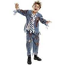 My Other Me - Disfraz para niño Estudiante Zombie Chico, 7-9 años (Viving Costumes 201911)
