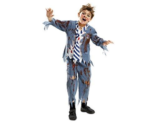 Imagen de my other me  disfraz de estudiante zombie chico para niño, 7 9 años viving costumes 201911