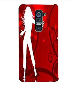 ColourCraft Dance Back Case Cover for LG G2