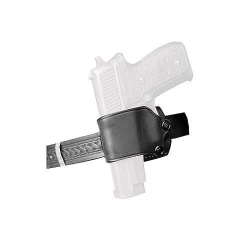 DeSantis Large Frame Single Action Semi-Auto Yaqui Slide-Style 023, Left Hand, Black