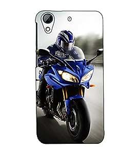 Fuson Designer Back Case Cover for HTC Desire 728 Dual Sim :: HTC Desire 728G Dual Sim (Motorbike theme)