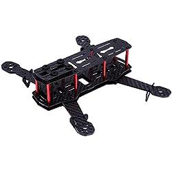 Drohne Frame Kit, 2 Typen 250 MM Quadcopter Aircraft Drone Frame Kit RC-Zubehör für QAV250( Kohlefaser)