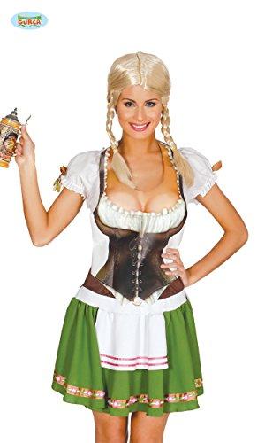 DAMEN - BRUSTTEIL WESTE - , Gagartikel Scherzartikel Oktoberfest (Kostüm Oktoberfest Zubehör)