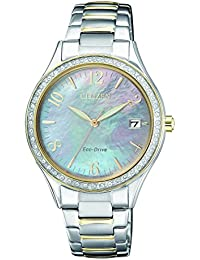 Citizen Eco-Drive Swarovski Crystal Elegant Ladies Watch - EO1184-81D