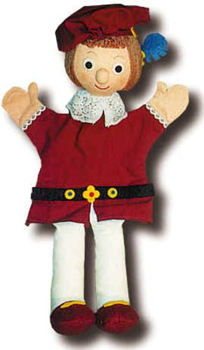 Marioneta peluche Principe Rojo 30cm Trullala