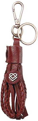 Liebeskind Berlin Damen Lilu Core Schlüsselanhänger, Rot (Phonebox Red), 1x2x14 cm (B x H T) (Red Schlüsselanhänger Leder)