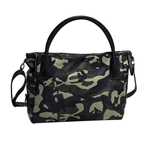 Tiadi Damen Umhängetasche Camouflage Groß Handtasche Oxford-Tuch Wasserdicht Schultertasche Frauen CasualHandtaschen -
