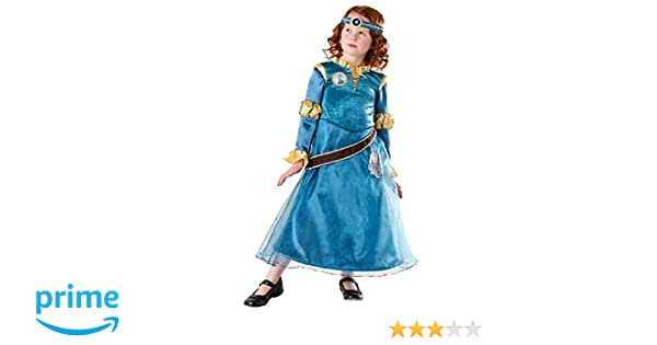 Disney Prinzessin Kinder Kostüm Merida Loveheart Rub