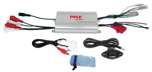 Pyle 4-Kanal-Wasserdichte iPod / MP3-Marine Power Verstärker (Thump-lautsprecher)