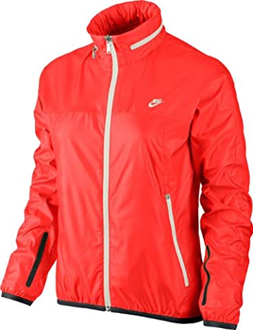 NIKE Damen Jacke Summer Coverup, Total crimson/sail/sail, XL, 533899