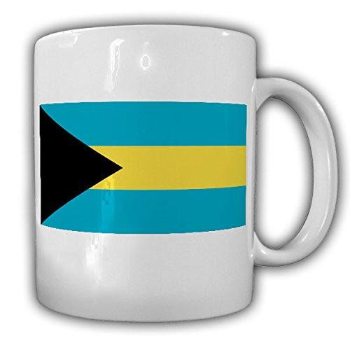 Bahamas Flagge Fahne Westindischen Inseln Flag - Tasse Becher Kaffee #13353 (T-shirt Bahamas-flagge)