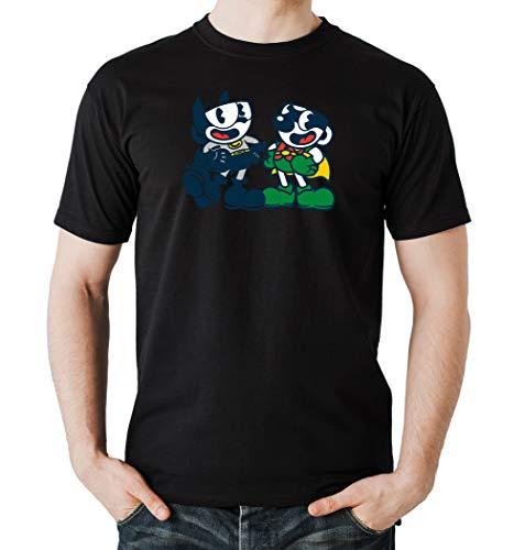 Certified Freak Cuphead Robin T-Shirt Boys Black XL