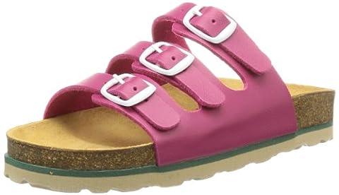 Lico BIOLINE KIDS, Mädchen Flache Hausschuhe, Pink (PINK), 35 EU (2.5 Kinder UK)