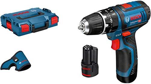 Bosch Professional Akku Schlagbohrmaschine GSB 12V-15 (2x 2,0 Ah Akku, 12 Volt, max. Bohr-Ø Holz: 19 mm, in L-BOXX)