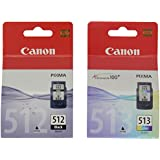 Canon PG512,CL513 Ink Cartridge - Black/Colour