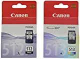 Canon  PG512/CL513 ,Ink Cartridge - Black/Colour