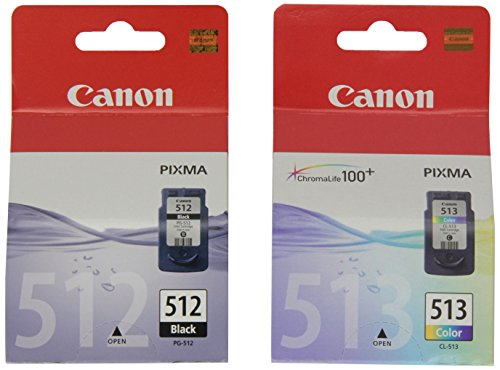 Canon PGI-512 BK / CL 513 Tintenpatronen, 2er Pack ( schwarz / farbig) (Drucker Mx360 Canon)