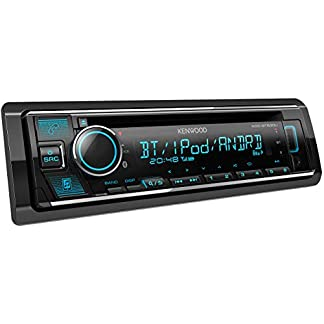 Kenwood-KDC-BT530U-CD-Autoradio-mit-Bluetooth-Freisprecheinrichtung-Soundprozessor-USB-Spotify-Control-4×50-Watt-Farben-einstellbar-Schwarz