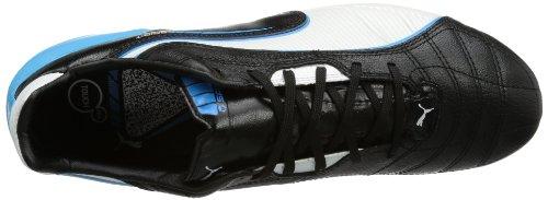 Puma Spirit FG Herren Fußballschuhe Blau (black-white-fluo blue 07)